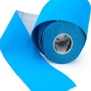 01 Bandă kinesiologică Athlos albastru 5 m