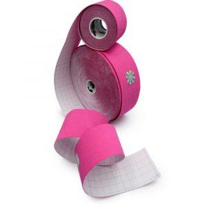 01 Bandă kinesiologică Sintetic roz 5m