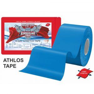 01 Bandă kinesiologică Athlos Albastru 32 m