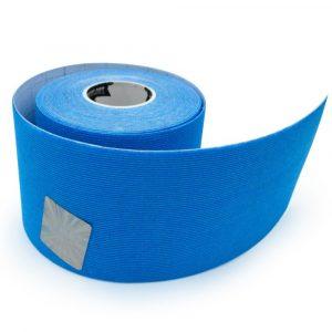 Bandă kinesiologică Sintetic Albastru 5 m