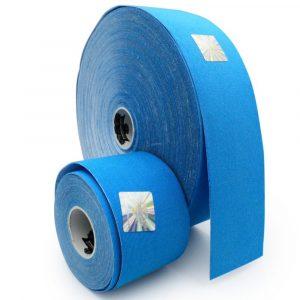 Bandă kinesiologică Sintetic Albastru 32 m